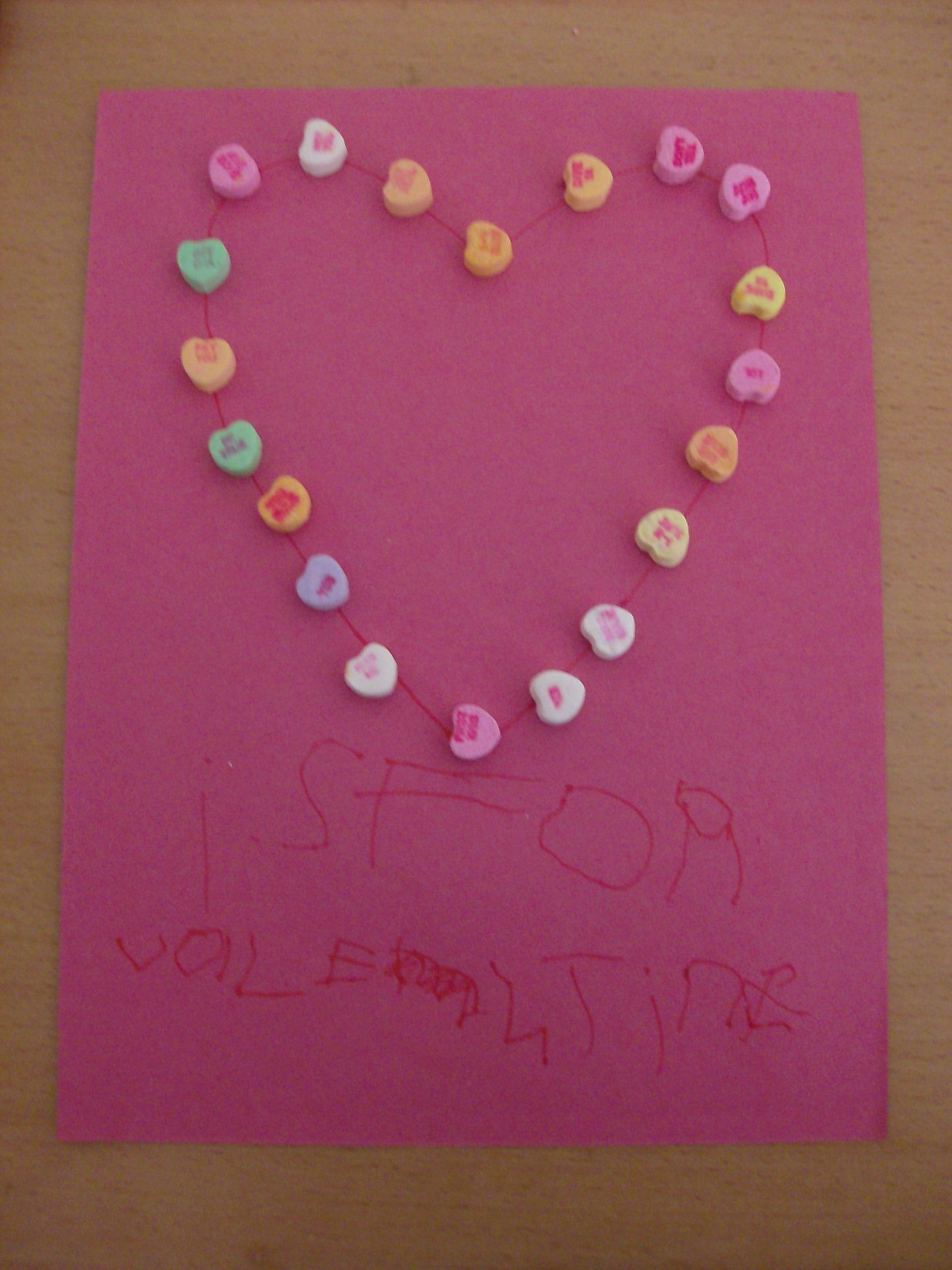 V Is For Valentine Preschool Activity And Valentine S Day Craft
