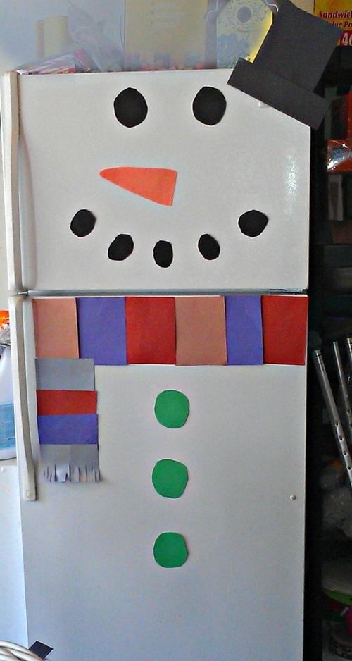 Snowman Christmas Door Decorations 02