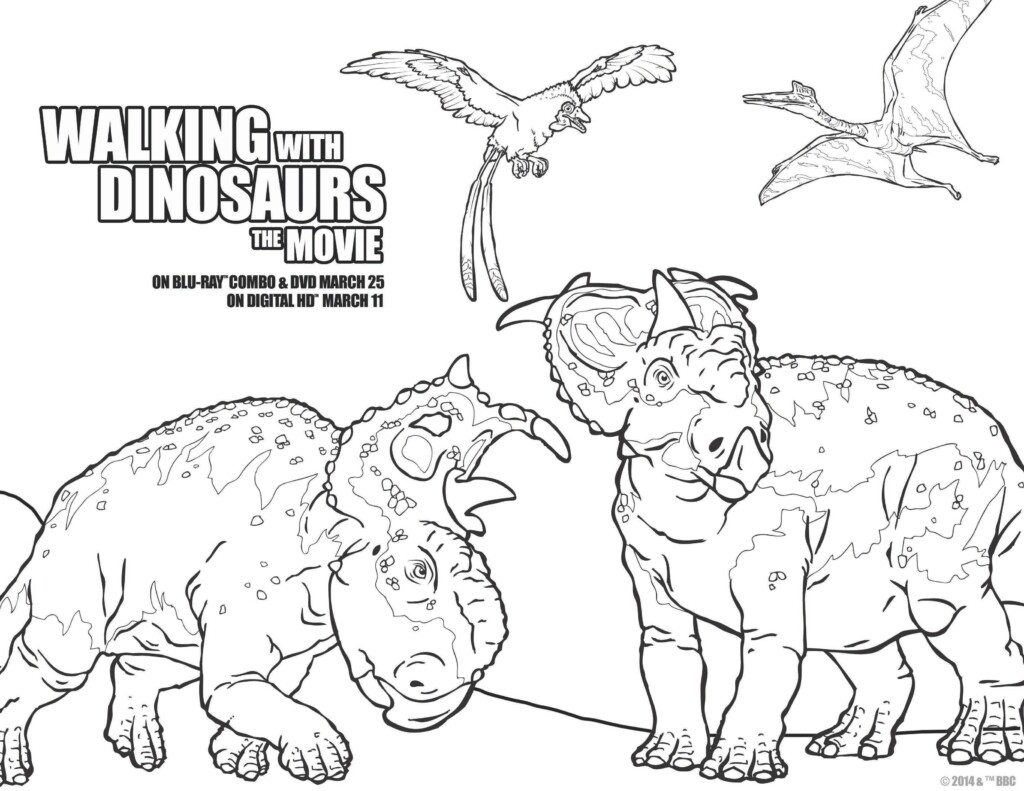 allosaurus coloring page walking with dinosaurs toys