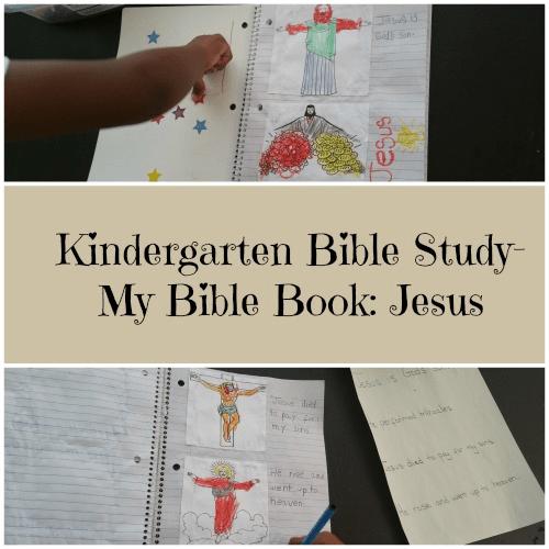 Kindergarten Bible Study- My Bible Book: Jesus