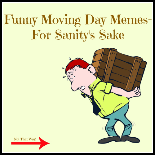 Funny Moving Day Memes For Sanity S Sake