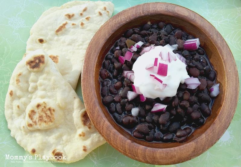 Easy Recipe for Starter Black Beans