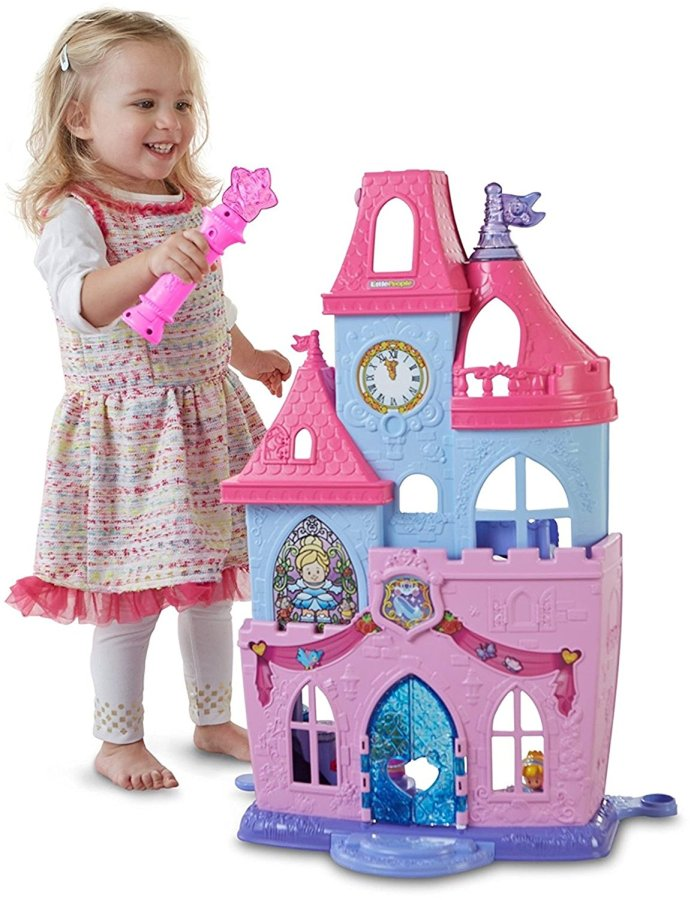 Fisher-Price Little People Disney Princess Magical Wand Palace Playset #ChristmasGifts