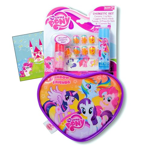 My Little Pony Heart Purse Gift Set for Valentine's Day #VDay #MLPLover