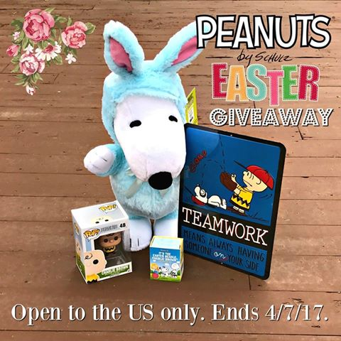 Peanuts Easter Prize Pack