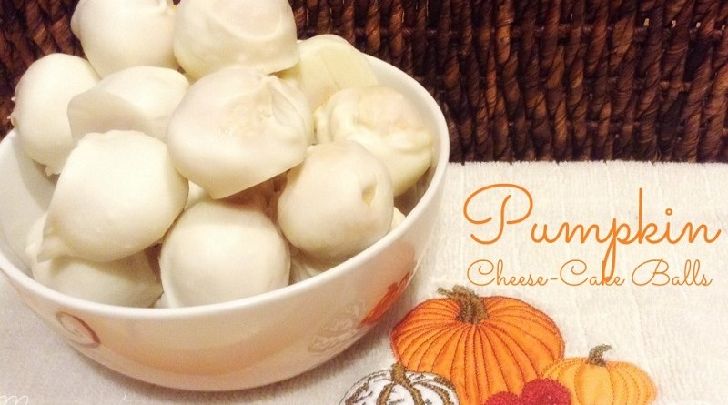 Pumpkin Cheesecake Balls Recipe by Mommy's Playbook