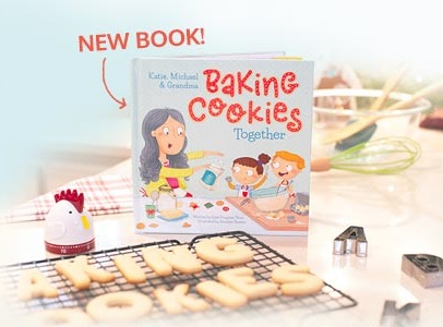 Baking Cookies Together Personalized Book #ISeeMe