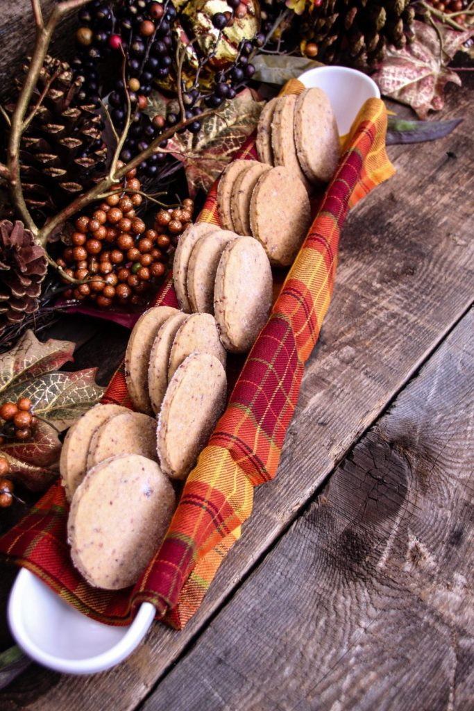 Cranberry Shortbread Cookies by Powered by Mom #ChristmasSweets #ChristmasCookies