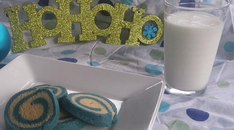 Beautiful Pinwheel Cookies; Vanilla Swirl #Cookies #ChristmasCookies