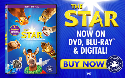 Bring Home The Star Movie on Blu-Ray + DVD + Digital #TheStarMovie #FlyBy