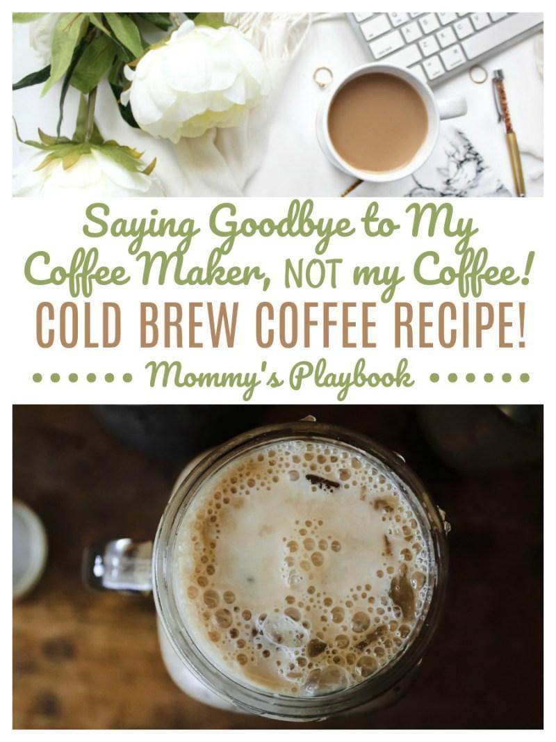 Cold Brew Coffee Recipe;  Cold Brew Coffee Without Coffee Maker #Coffee #CoffeeLover #CoffeeRecipe #ColdCoffee