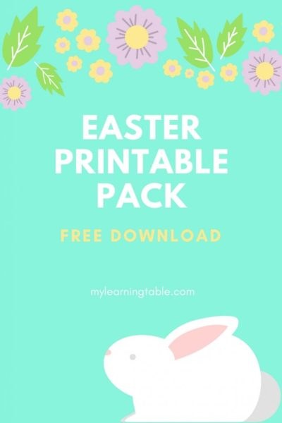 Free Easter Printable Pack by Learning Table