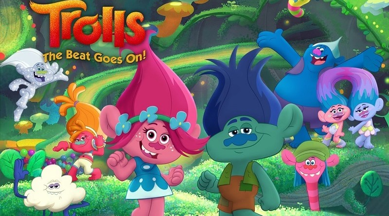 TROLLS: THE BEAT GOES ON! #Soundtrack #Entertainment #Dreamworks #Trolls