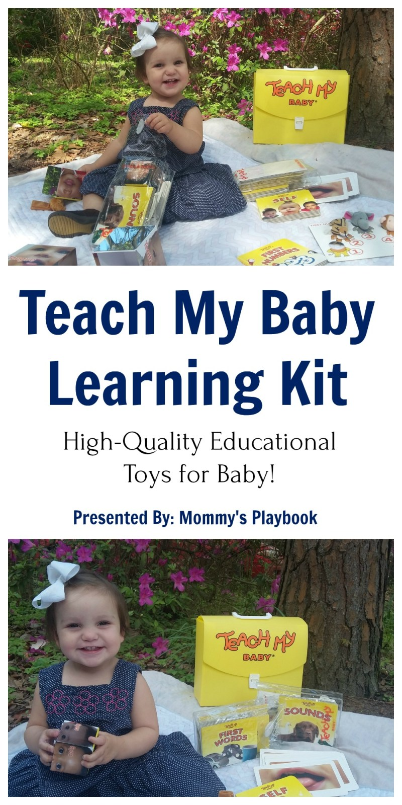 Teach My Baby Learning Kit #BabyGift #Baby #TeachMyBaby #Babyshower