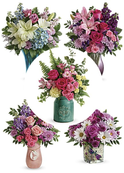 Teleflora Mother's Day Bouquet Collection #Teleflora #MothersDay #MothersDayGifts #GiftIdeas