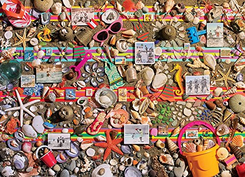 Cobble Hill 1000 Piece Puzzle Beach Seashell Puzzle