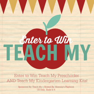 Teach My Learning Kits for After School, Homeschool, and Tutoring Tools. Learn more about Teach My at Mommy's Playbook