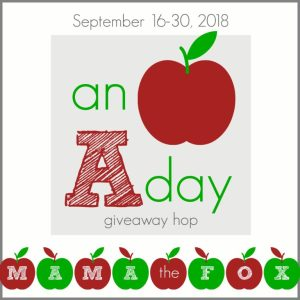 An Apple a Day Giveaway Hop at Mommy's Playbook! Hosted by Mama the Fox!