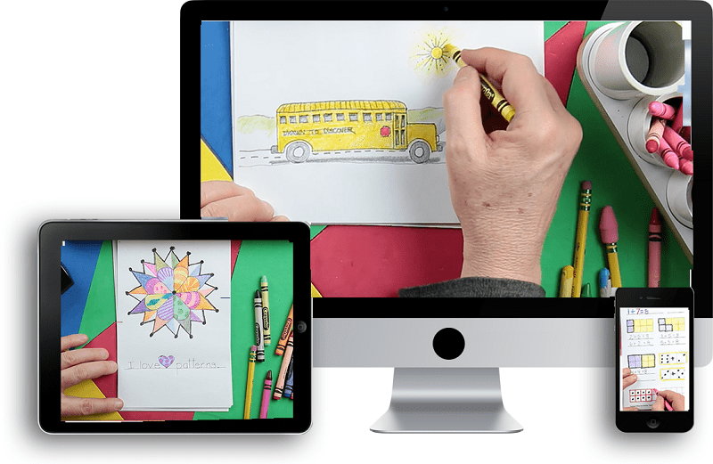 Drawn to Discover Children's Literacy Videos #Homeschooling #STEM #Spacial #Preschool #AdvancedDrawing #LearntoDraw