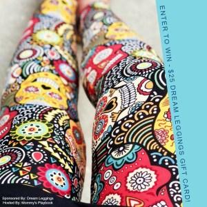 Enter to Win a $25 Gift Card to Dream Leggings! #FreeLeggings #Sweeps