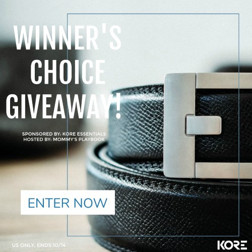 Win a Belt & Buckle of Your Choice #Giveaway