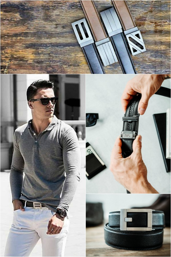 Kore Essentials No more awkward belt holes, Kore men's belts use a simple, but effective, hidden track system to give you a perfect fit every day. #KoreEssentials #FashionBelt #GiftsforHim #Christmas2018