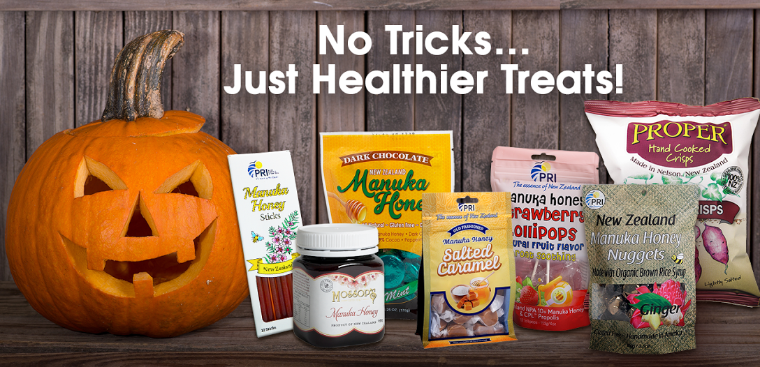Enter to #WIN Halloween Treats from New Zealand with #S hopPRI plus 15% OFF + FREE Shipping with Discount Code: Halloween15