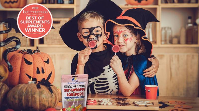 No Tricks with New Zealand ' s Healthier TREATS @ShopPRI. Enter our #ManukaHealth $65 in product + 15% Discount Code + FREE Shipping : Halloween15