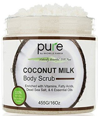 Pure Coconut Milk Body Scrub #PureParker #CoconutMilk