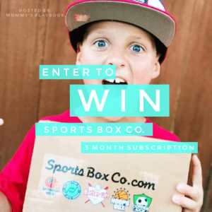 Enter to Win a 3 Month Subscription to Sports Box Co.! Winner's Choice! #SportsBoxCo #EntertoWin #Giveaway