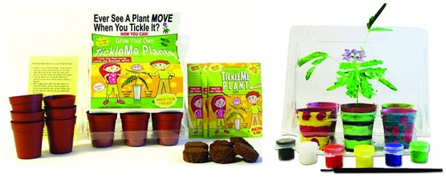 TickleMe Plant Deluxe Greenhouse Kit with Six Color Paint Set for Kids image