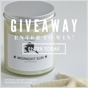Enter to Win 3 Evocative Chi Candles at Mommy's Playbook! #EntertoWin #Giveaway #Sweeps #Prize #SummerTravel