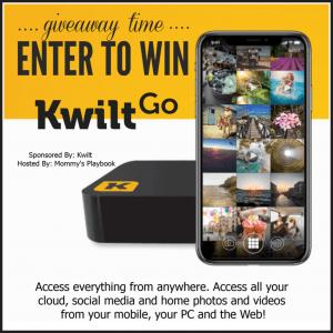 KwiltGo Personal Storage Giveaway Contest image