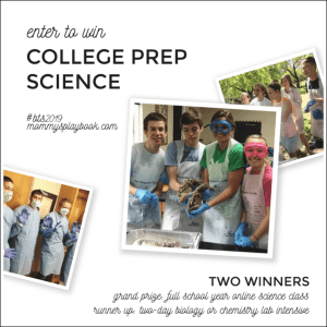 Back to School with College Prep Science #CollegePrepScience #Homeschool #Science #BTS