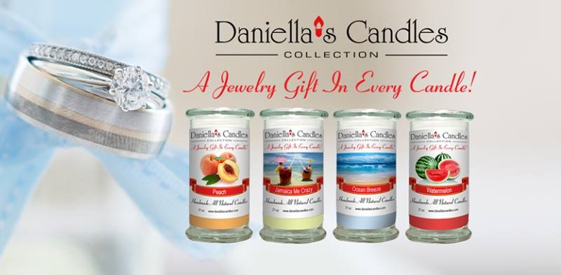 Daniella's Candles are candles are 100% natural soy and we use premium quality fragrances so they all smell great!