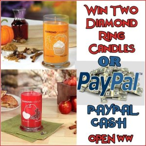 Enter to Win a Diamond Candle