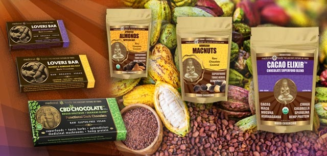Visit Medicinal Foods to Find Raw Cacao Products