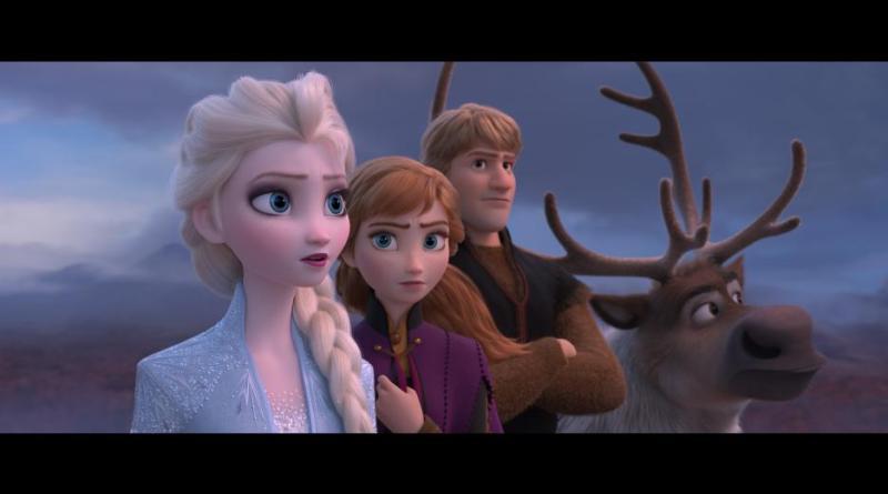 Frozen 2 Movie on DVD