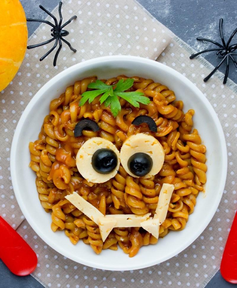 Monster Pasta Plate for Kids
