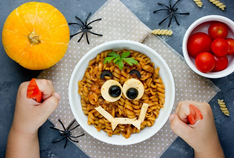 Halloween Monster Pasta