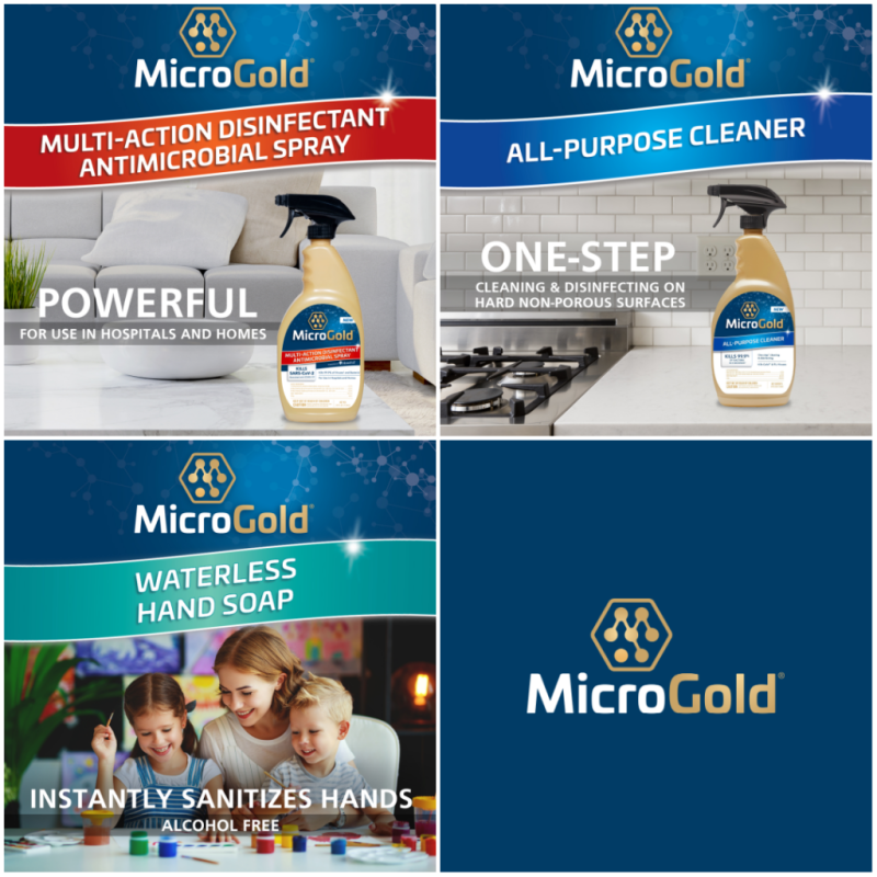 MicroGold Product Lineup