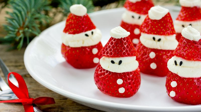 Stuffed Santa Strawberries Recipe