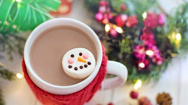 Marshmallow Snowman Hot Chocolate