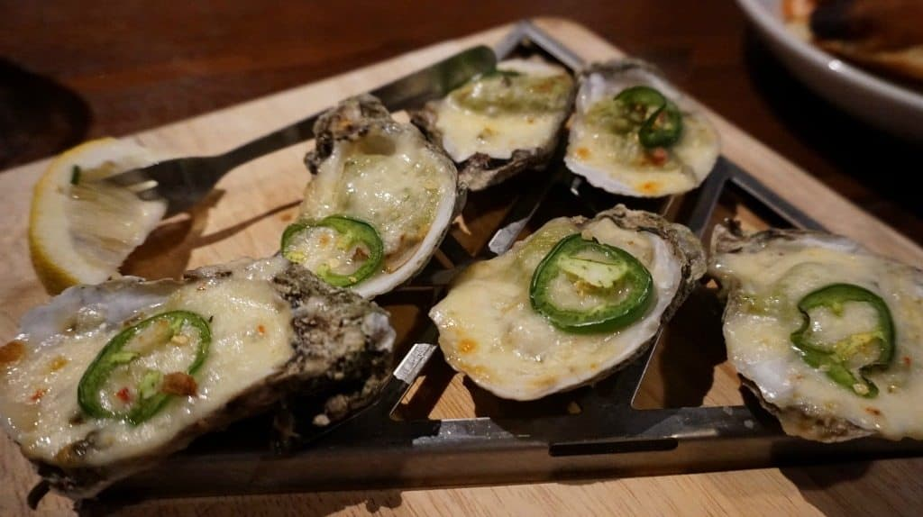 Oysters at the Grand Marlin