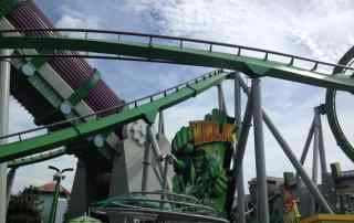 Hulk Roller coaster at Islands of Adventure