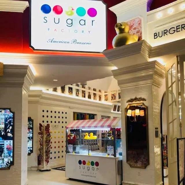 Sugar Factory Fashion Show Mall