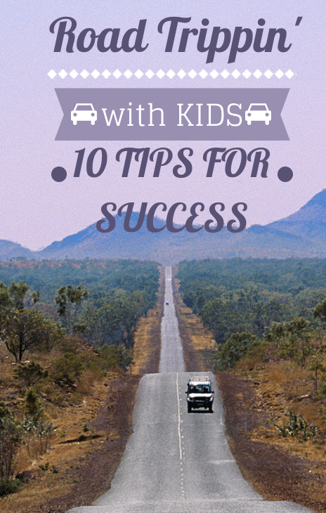 10 Tips & tricks to make road trips with kids easier