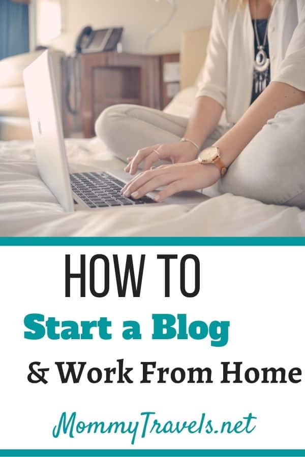 How to Go to start a blog and work from home