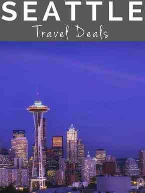 Seattle travel deals