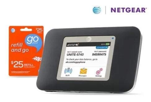 AT & T Netgear hotspot review